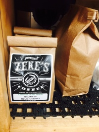 Of course, Zekes Coffee is served